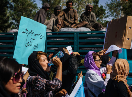 Afghan Women Confront the Taliban