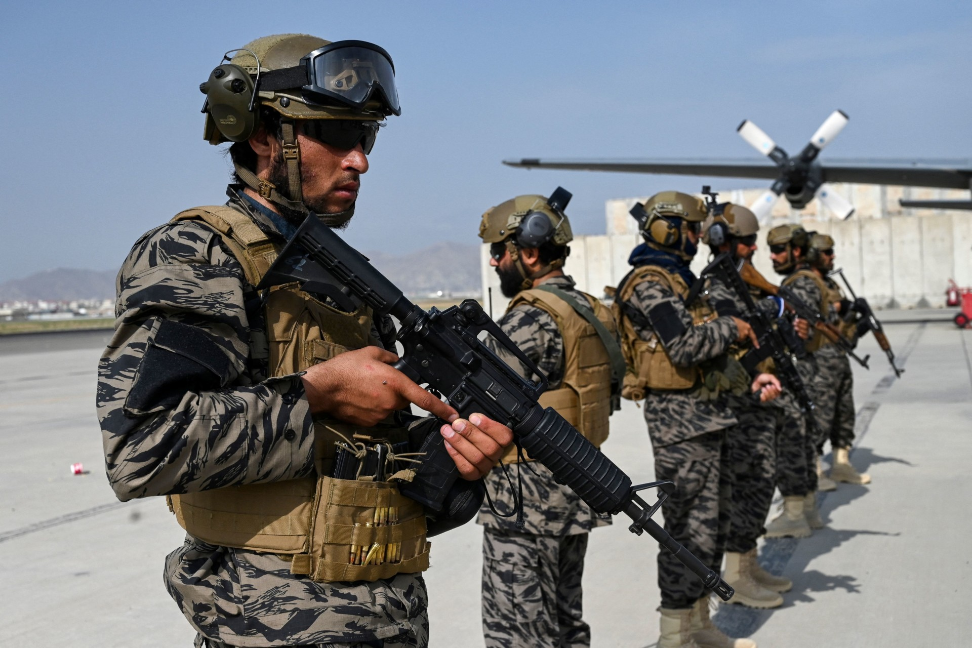 The Special Units Leading the Taliban's Fight against the Islamic State