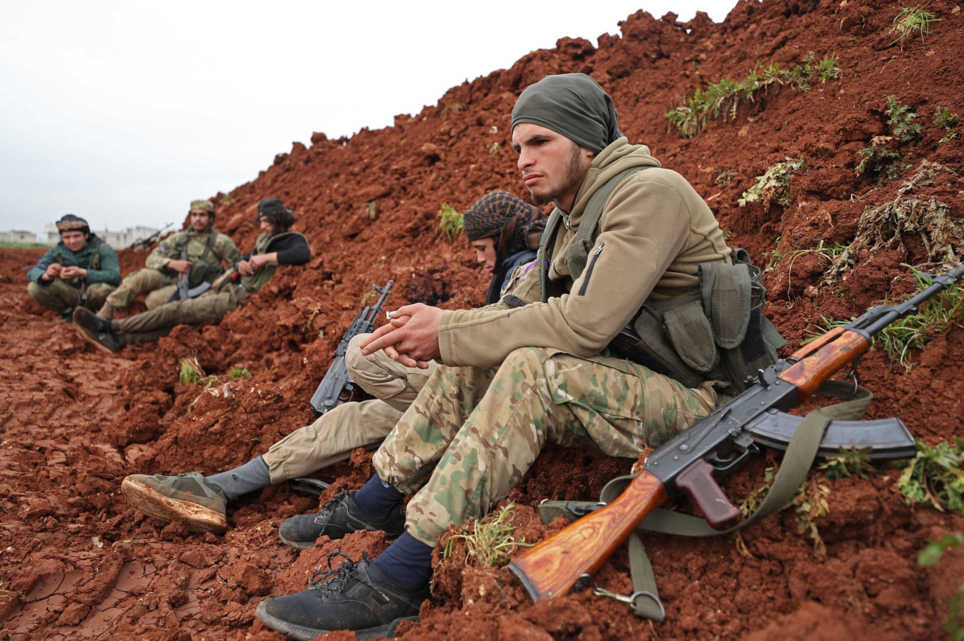 Syria's Wretched Foreign Legion